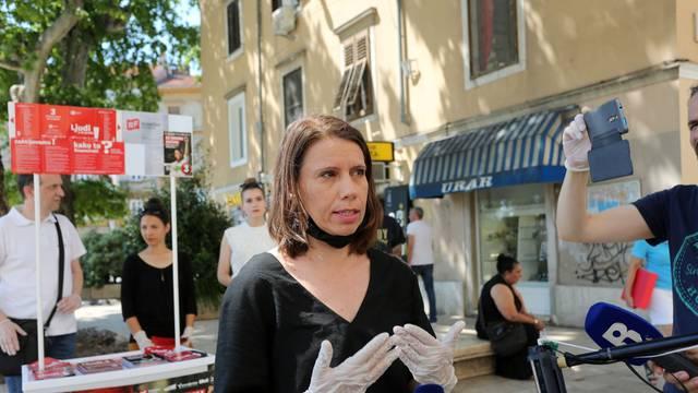 Rijeka: Konferencija za medije Katarine Peović