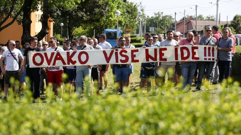 Policija: 'Ako nas ministar ne primi, ići ćemo na Markov trg'