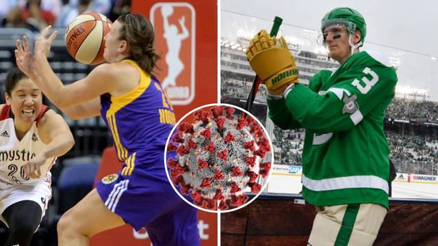 Korona hara ženskom NBA i NHL ligom, pozitivna su čak 42 testa