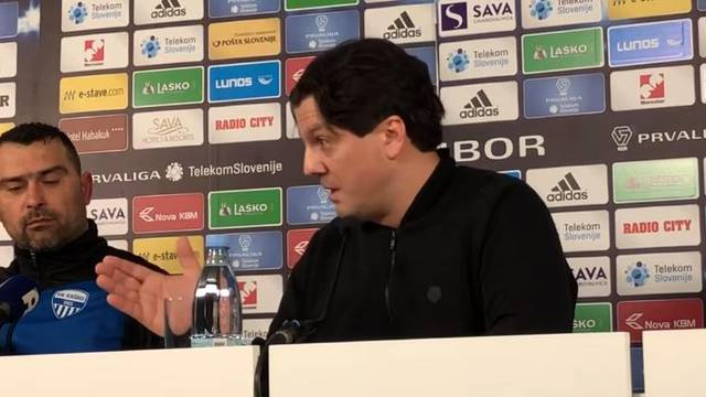 Maribor suspendirao Zahoviča, on se odbio ispričati novinaru