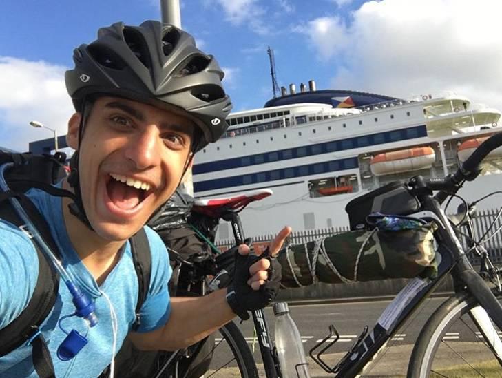 Na biciklu 48 dana od Škotske do Grčke: Htio sam vidjeti svoju obitelj, a otkazali su sve letove