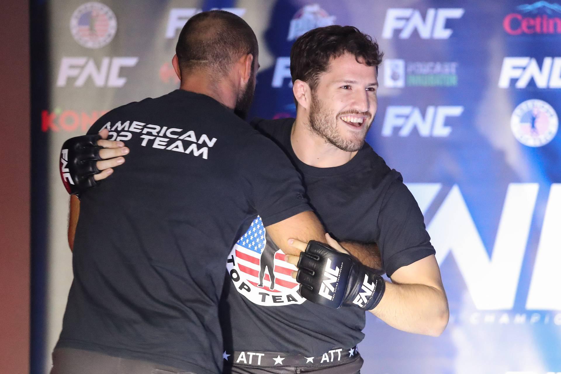 Zagreb: Otvoreni trening boraca uoči Fight Nation Championshipa