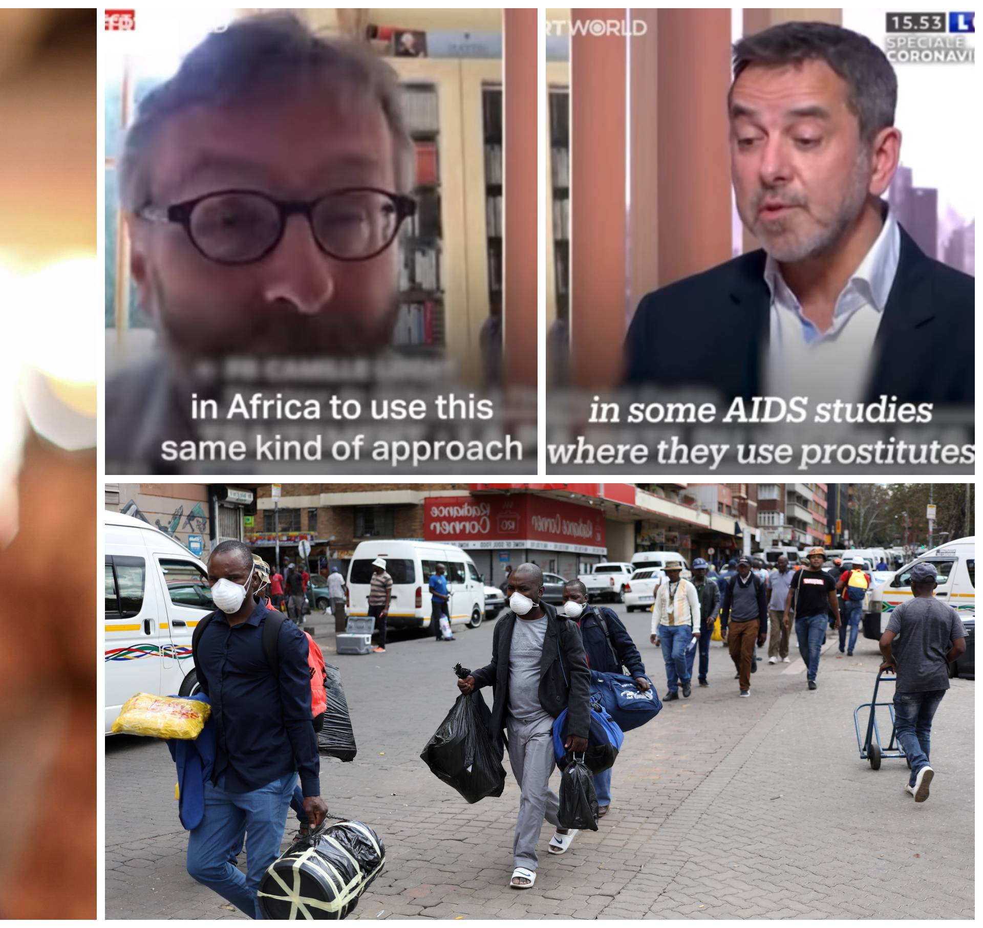 Afrikanci kao zamorci: 'Kao s prostitutkama u doba AIDS-a'