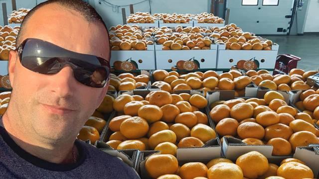 Otkupio sedam tona mandarina i sve ih donirao ustanovama po Hrvatskoj koje skrbe o djeci