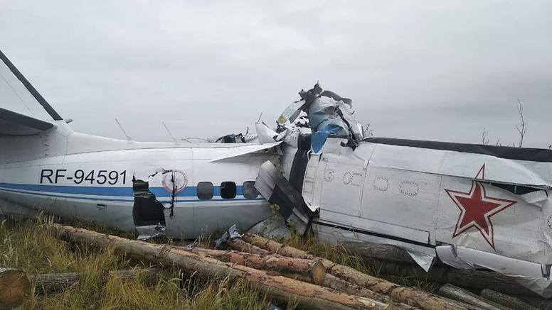 Tragedija u Rusiji: 16 mrtvih u padu aviona, sedmero u bolnici