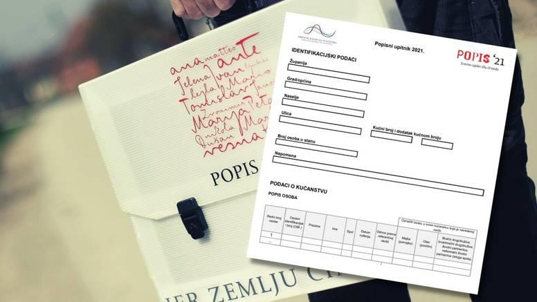 U ponedjeljak počinje prvi digitalni popis stanovništva