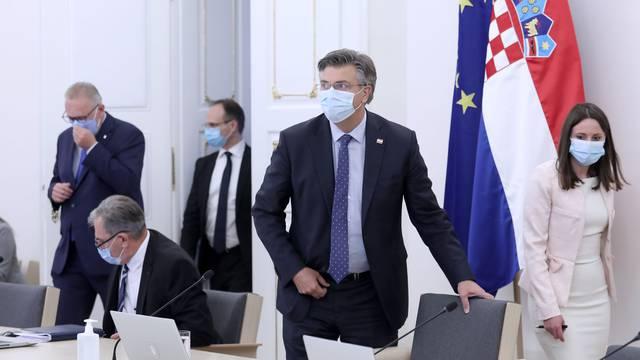 Zagreb: Vlada RH održala posljednju sjednicu u ovom mandatu