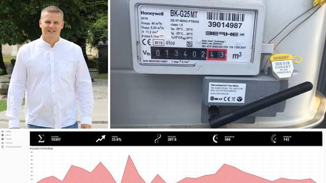 Vrbovec uvodi pametna brojila za plin kako bi mogli uštedjeti