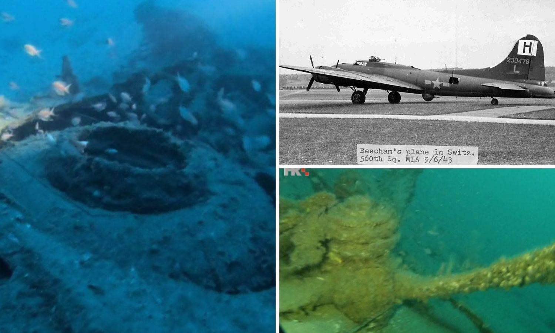 U Biševskom kanalu ronioci pronašli još jedan saveznički bombarder - leteća tvrđava B24