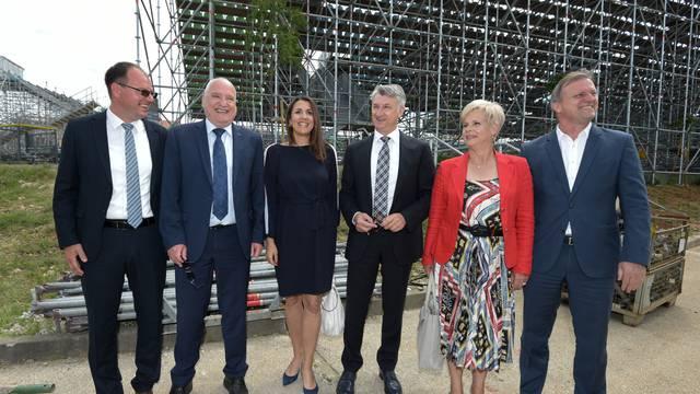 Zadar: Na Višnjiku svečano otvoren Regionalni teniski centar