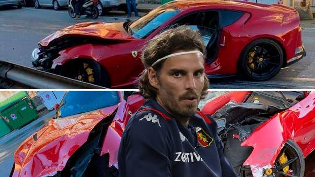 Ostavio Ferrari vrijedan više od dva milijuna kuna na pranju, a našao ga je potpuno 'skršenog'