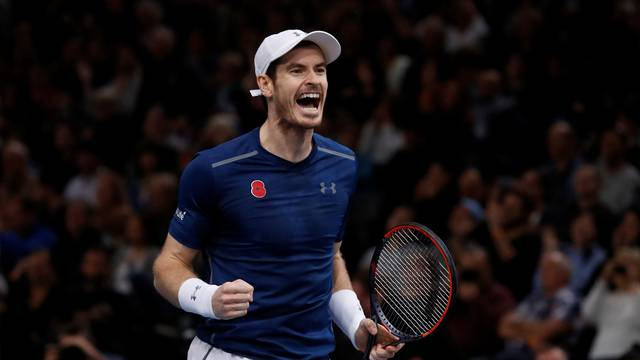 Tennis - Paris Masters tennis tournament men's singles final - Andy Murray of Britain v John Isner of the U.S.