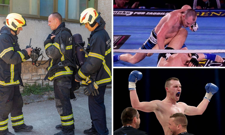 Vatrogasac Andi je pulski Stipe Miočić: 'Gašenje požara mogu usporediti sa skidanjem kila'