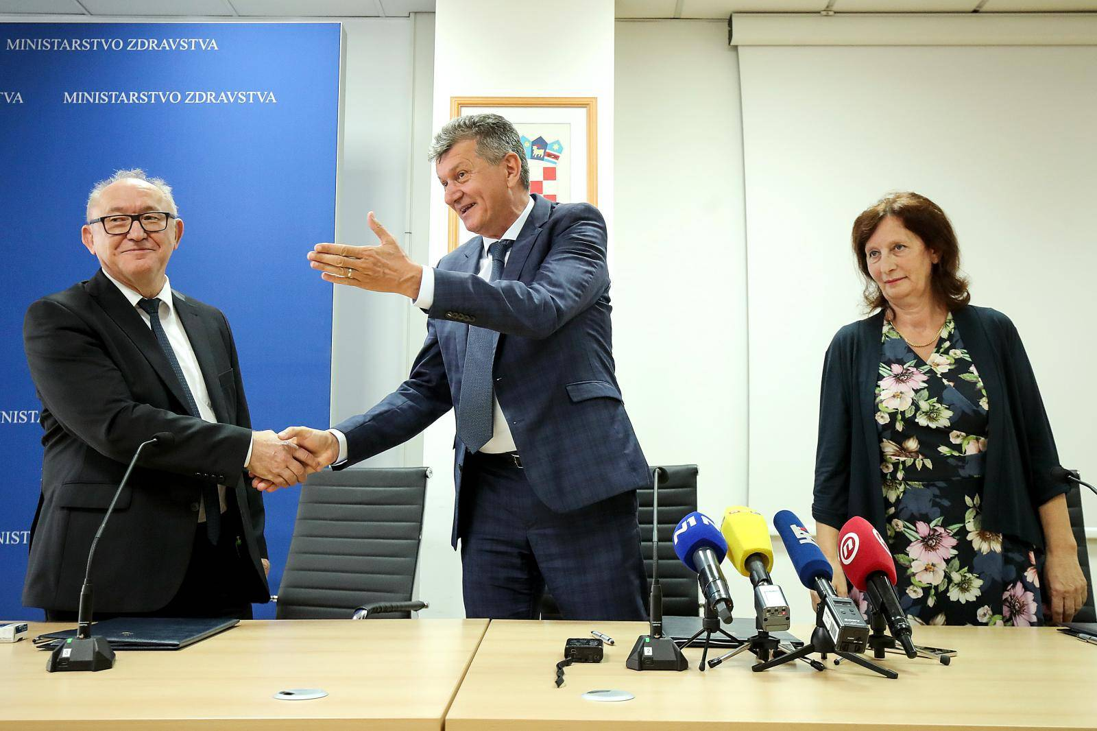 Zagreb: Kujundžić sa sindikatima zdravstva potpisao Dodatak 2. kolektivnom ugovoru