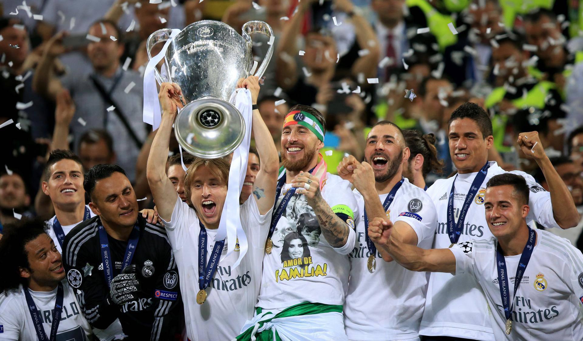 Real Madrid v Atletico Madrid - UEFA Champions League - Final - San Siro
