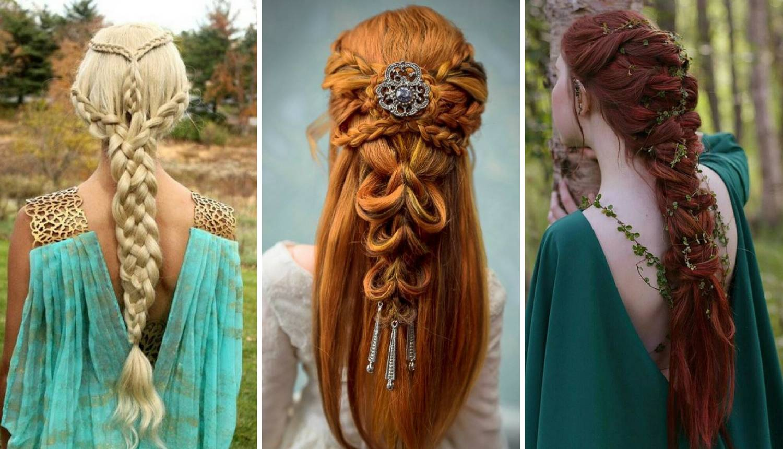 Romantične frizure nadahnute modom srednjeg vijeka, lako je