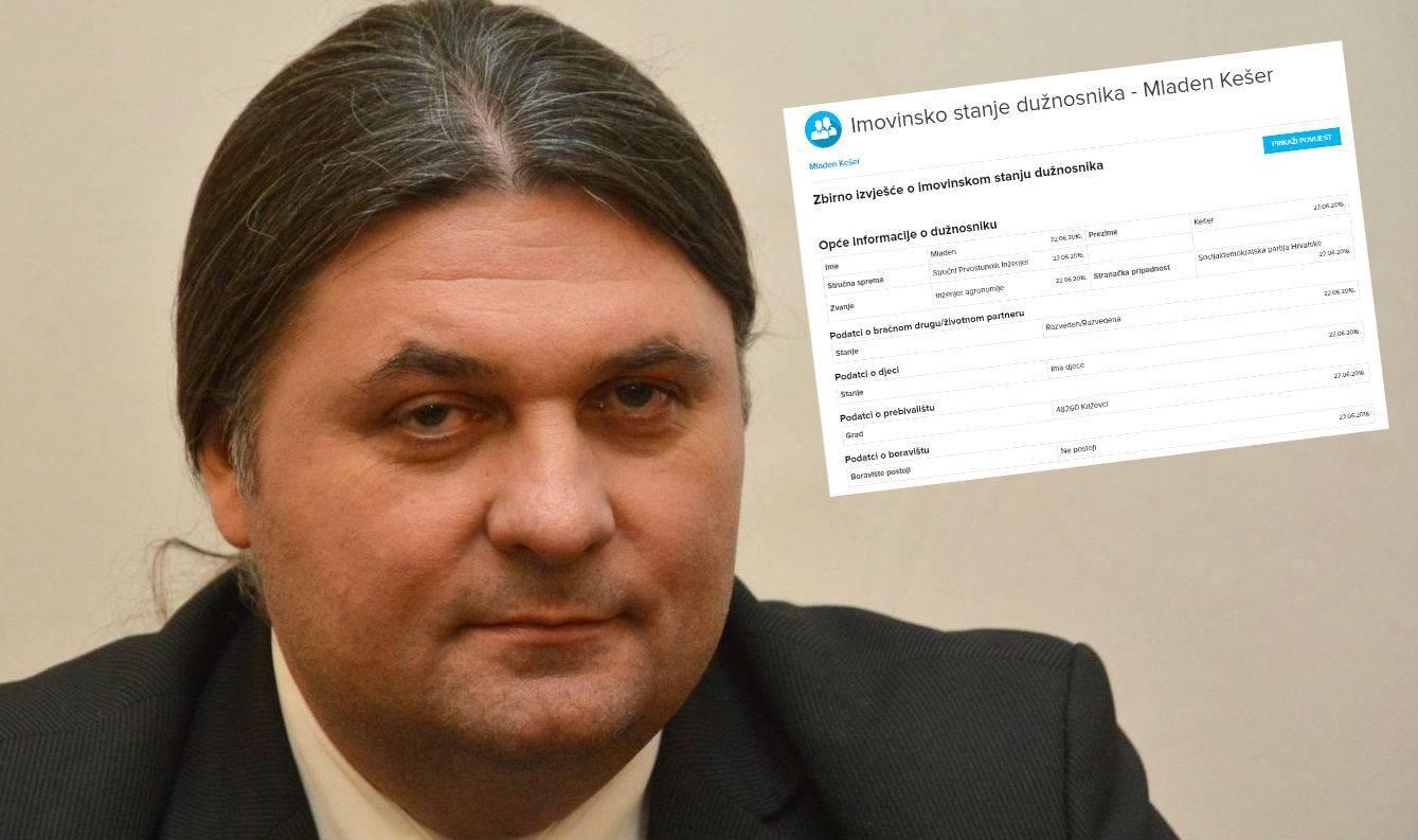 Ovaj načelnik općine je upisao čak 279 nekretnina u kartici!