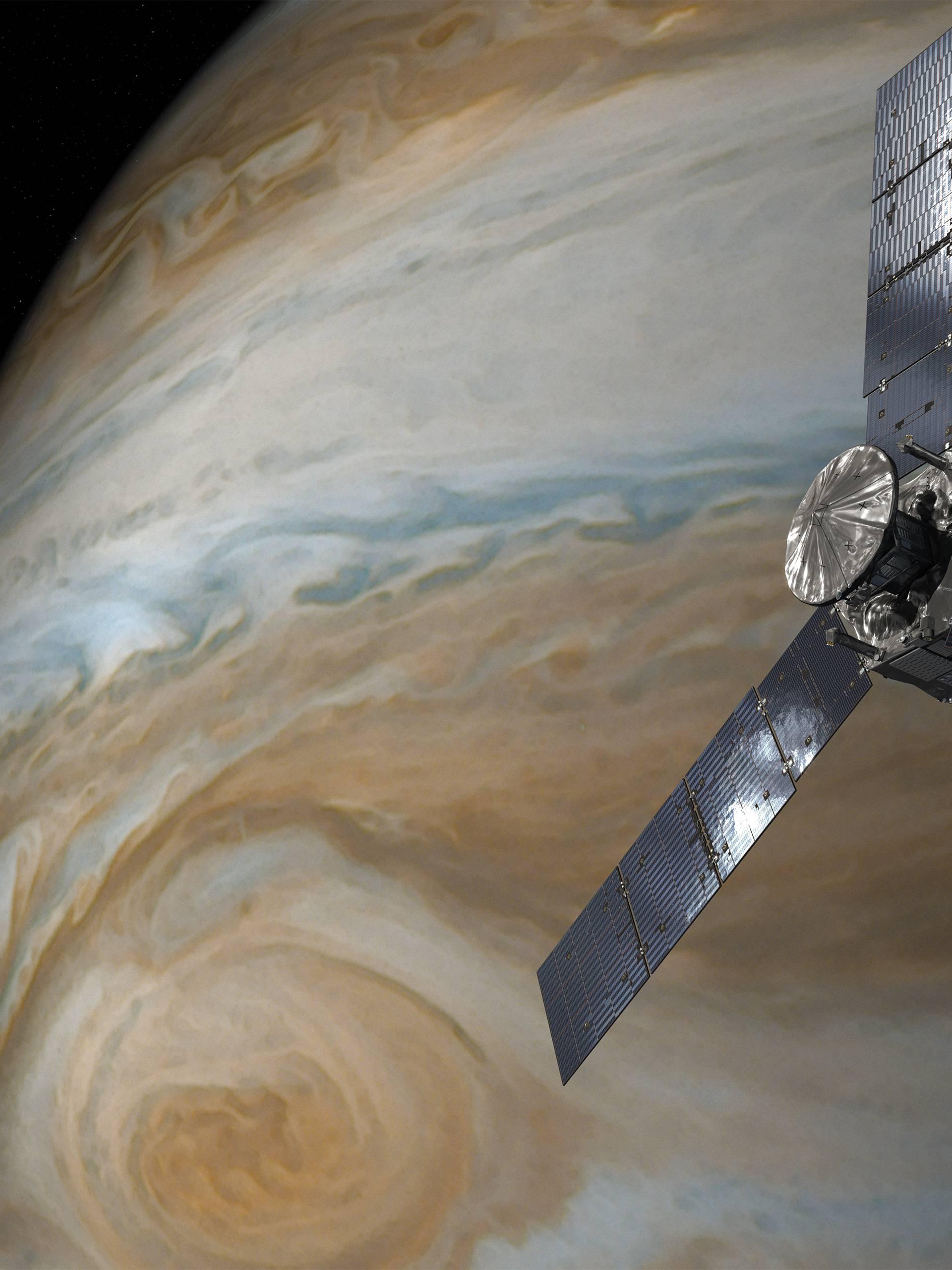 Ne znaju što ju pokreće: Juno šalje fotke oluje veće od Zemlje