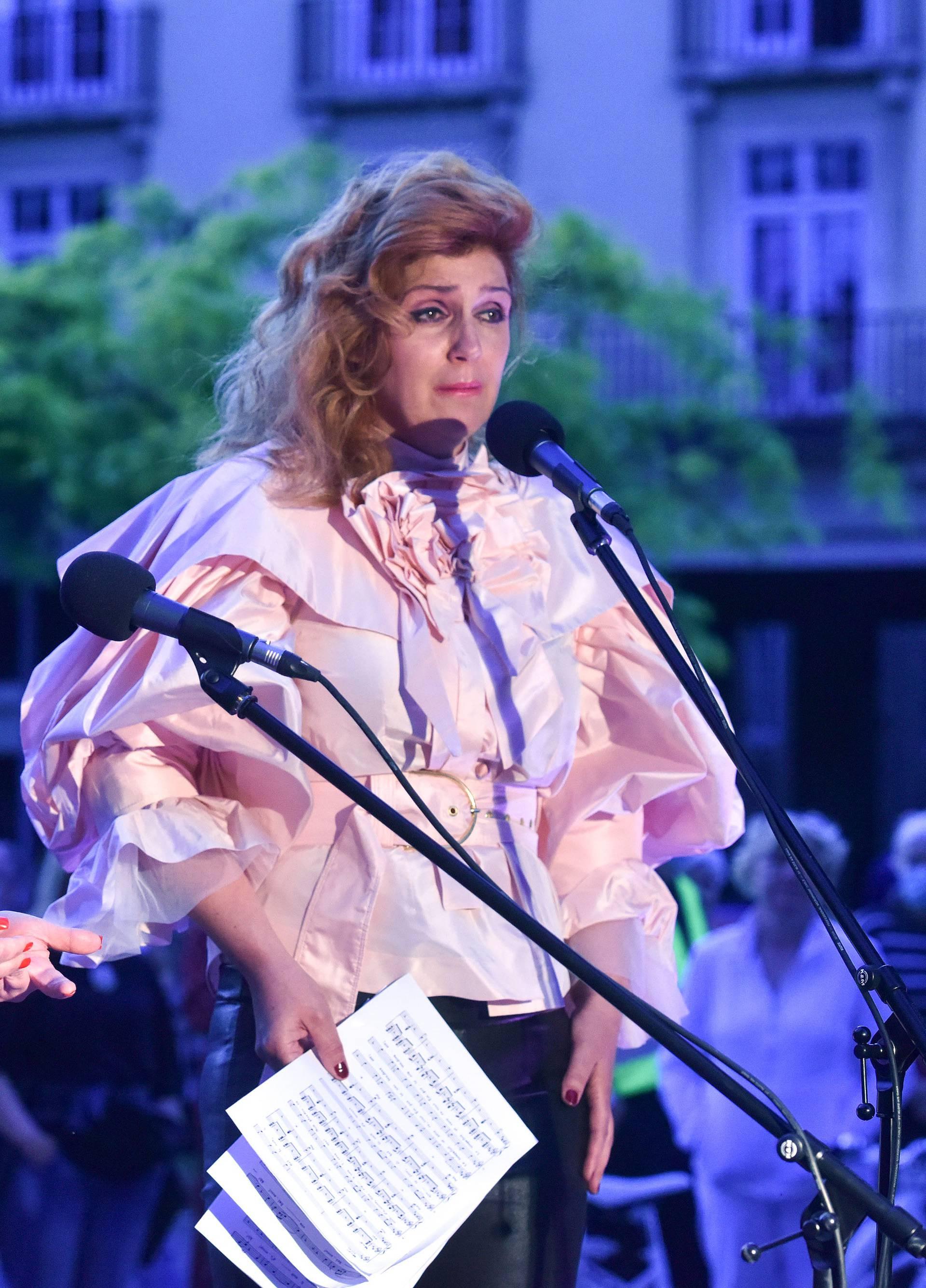 Zagreb: HNK u vašem kvartu - za građane koncert na otvorenom izvele operne pjevačice