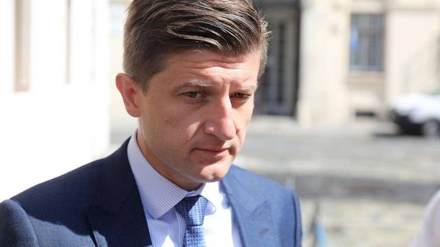 Zagreb: Dolazak dužnosnika u Banske dvore
