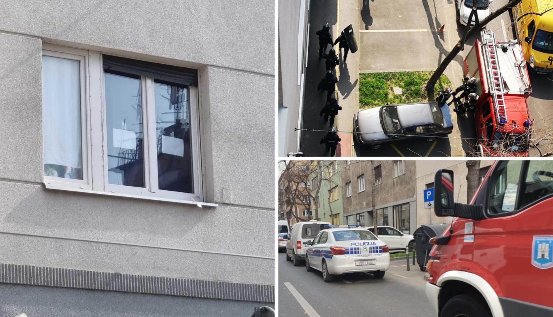 OPSADNO STANJE U ZGRADI BIVŠE PREDSJEDNICE HRVATSKE: Sve je bilo puno specijalaca, stigli i snajperisti: Žena zaključana u stanu prijetila bombama!