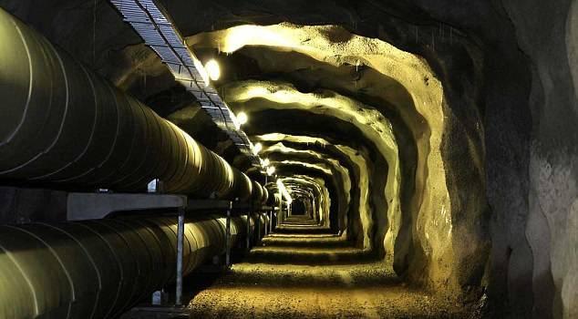 Podzemni tunel u Helsinkiju