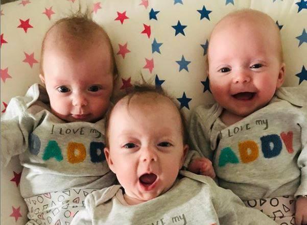 Nakon godina umjetne oplodnje roditelji su im platili 'još jedan pokušaj' i stigle su - tri curice!