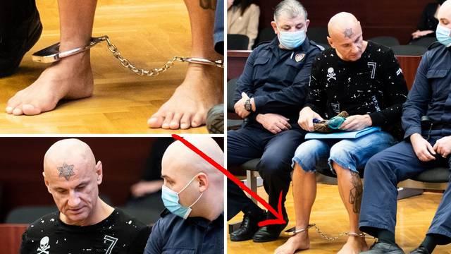 Sude mu za ubojstvo Karmelina, na sud u Splitu došao bosonog