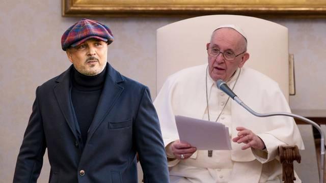 Mihajlović je oduševio Papu: Pa odmah ću te proglasiti svecem!