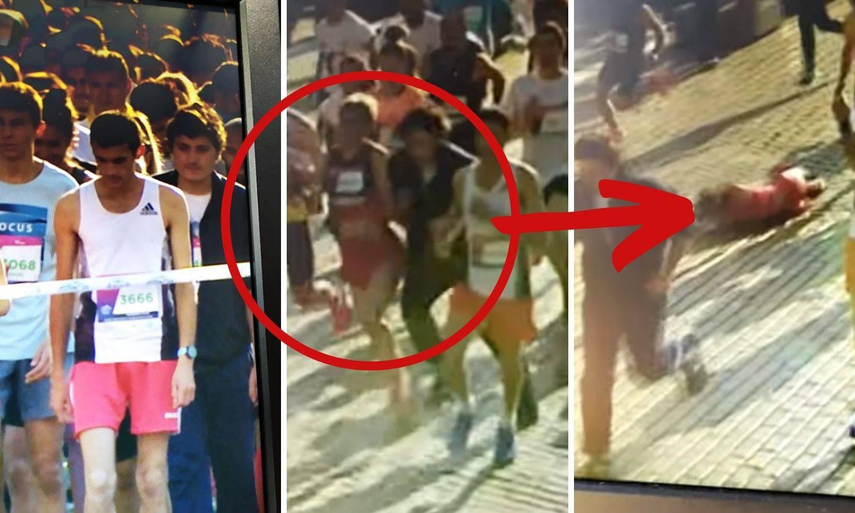 Video: Prikrao se i napao srpsku maratonku, pala je u nesvijest