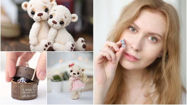 Japanski amigurumis: Ona plete unikatne minijaturne figurice