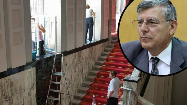 Razbacuju novac:  Sabor troši na obnovu i Reinerov portret
