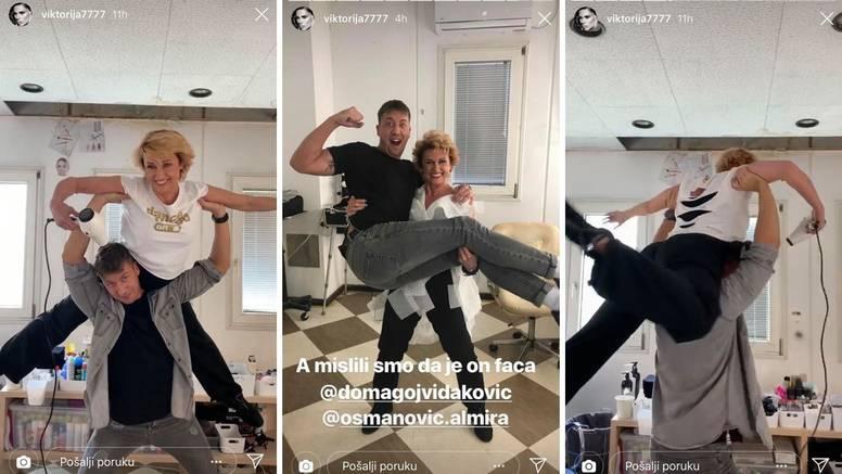 Ples s frizerima: Primabalerinu Almiru je zavrtio u backstageu