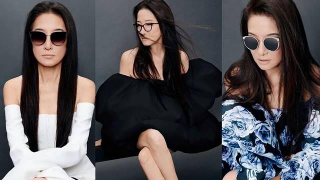 Vera Wang (71) postala model za svoju vlastitu liniju naočala