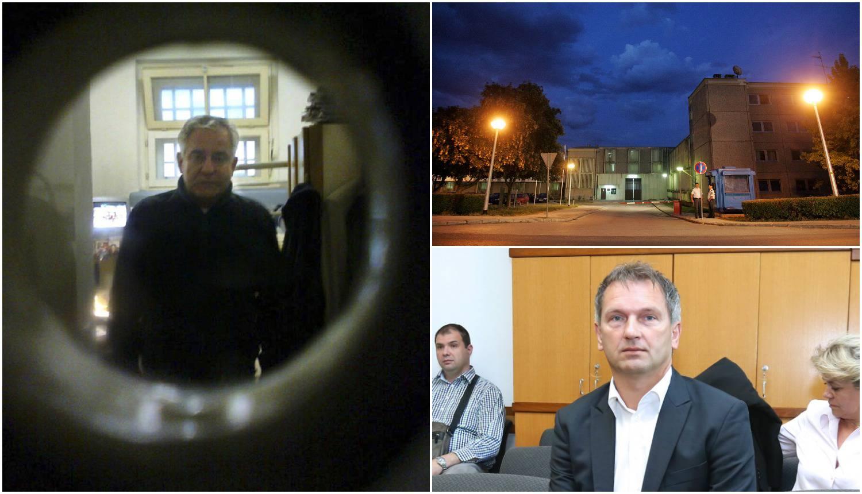 Ćaća u depri: Sanader je ljutit, sam je u ćeliji i šeta s Dolačkim