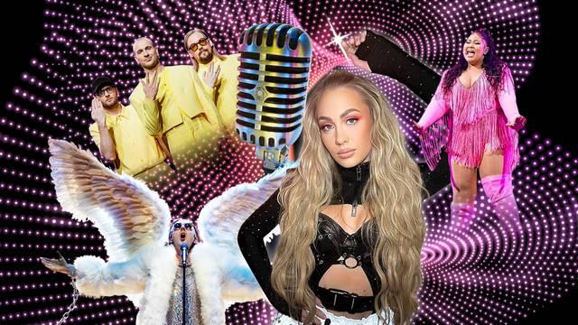 Evo tko je sve konkurencija Albini u polufinalu Eurosonga
