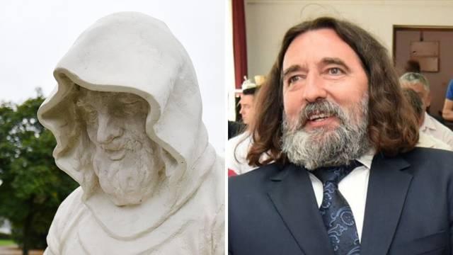 Kip redovnika mora na doradu: Varaždince podsjeća na bivšeg gradonačelnika Ivana Čehoka