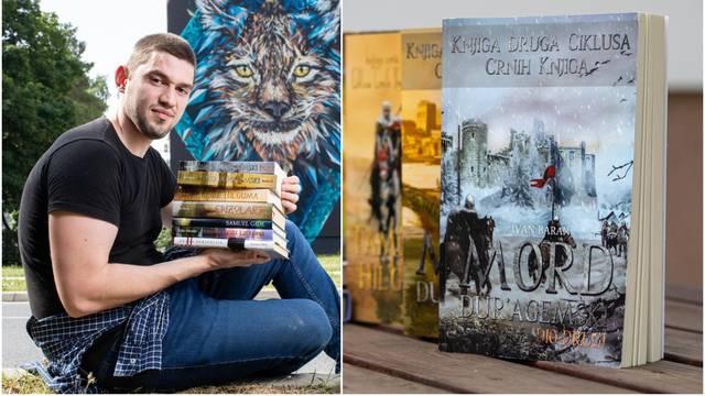 Ivan Baran (24): Prvi roman sam počeo pisati s 11 godina, živim samotnjački i za knjige
