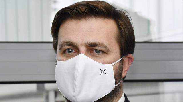 Tomislav Ćorić o cijepljenima u svom ministarstvu: 'Ja ne želim ulaziti u intimu zaposlenika'