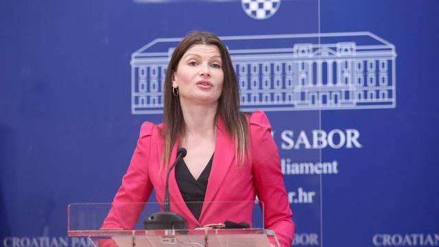 Zagreb: SDP održao konferenciju za medije u Saboru