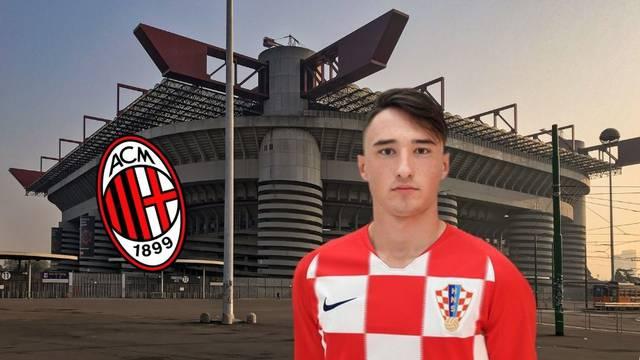 Veliki gubitak za Dinamo: Mladi branič potpisuje za AC Milan...