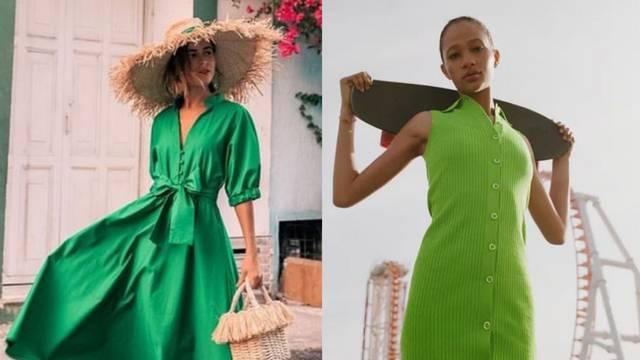 Zen boja: Kako se zelena snašla u ovosezonskim trendovima