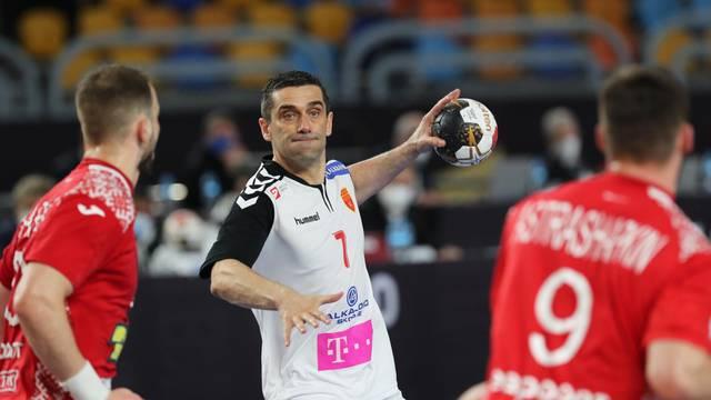 2021 IHF Handball World Championship - Main Round Group 4 - Belarus v North Macedonia