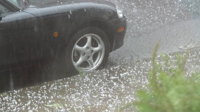 Extreme hailstorm