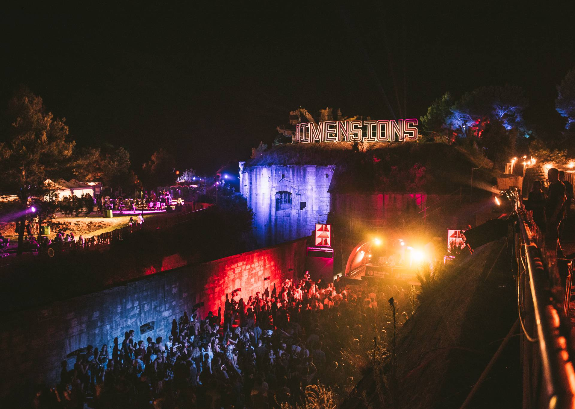 Posljednji Dimensions festival na tvrđavi Punta Christo