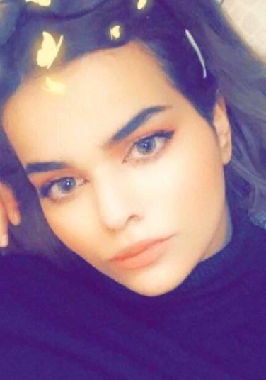 Rahaf Mohammed al-Qunun, a Saudi woman who claims to be fleeing her country and family and is currently in Bangkok