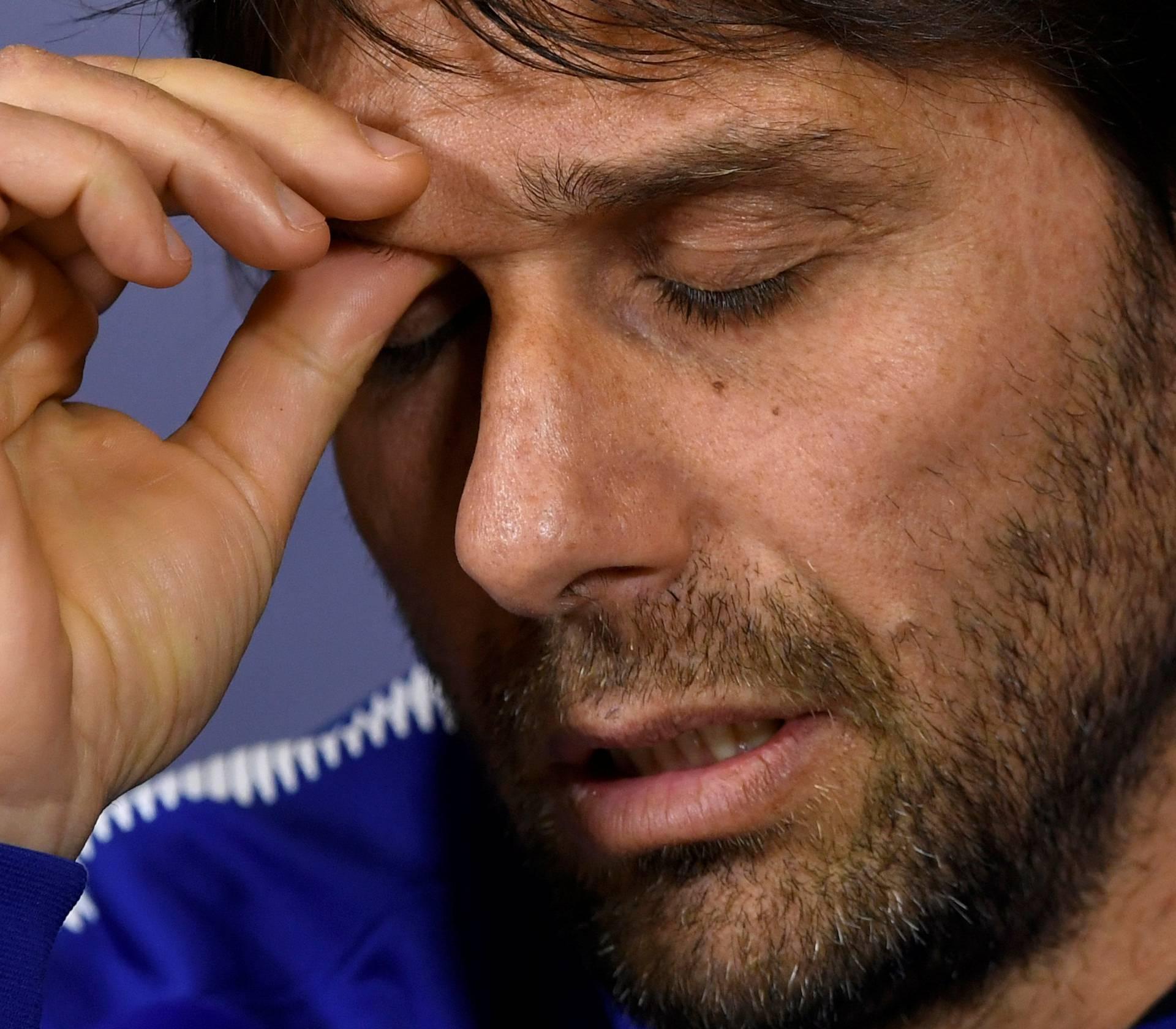 Premier League - Chelsea - Antonio Conte Press Conference