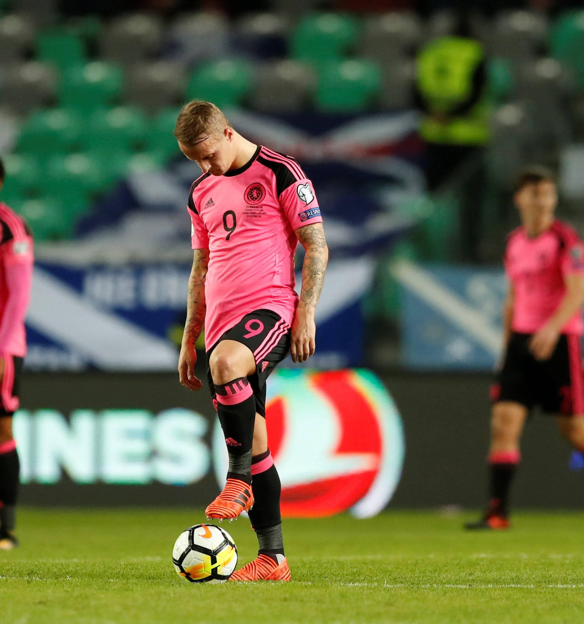 2018 World Cup Qualifications - Europe - Slovenia vs Scotland