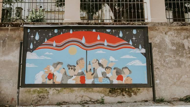 Tri talentirane dame potpisuju nove street art radove u Zagrebu