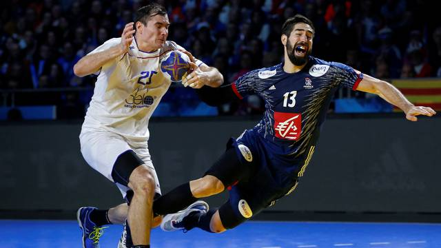 Men's Handball - Russia v France - 2017 Men's World Championship Main Round - Group A